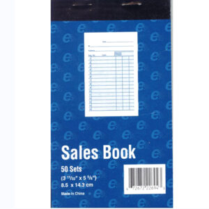 Receipt Books, Sales Books and Message Books